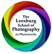 The Leesburg School of Photography at photoworks Logo
