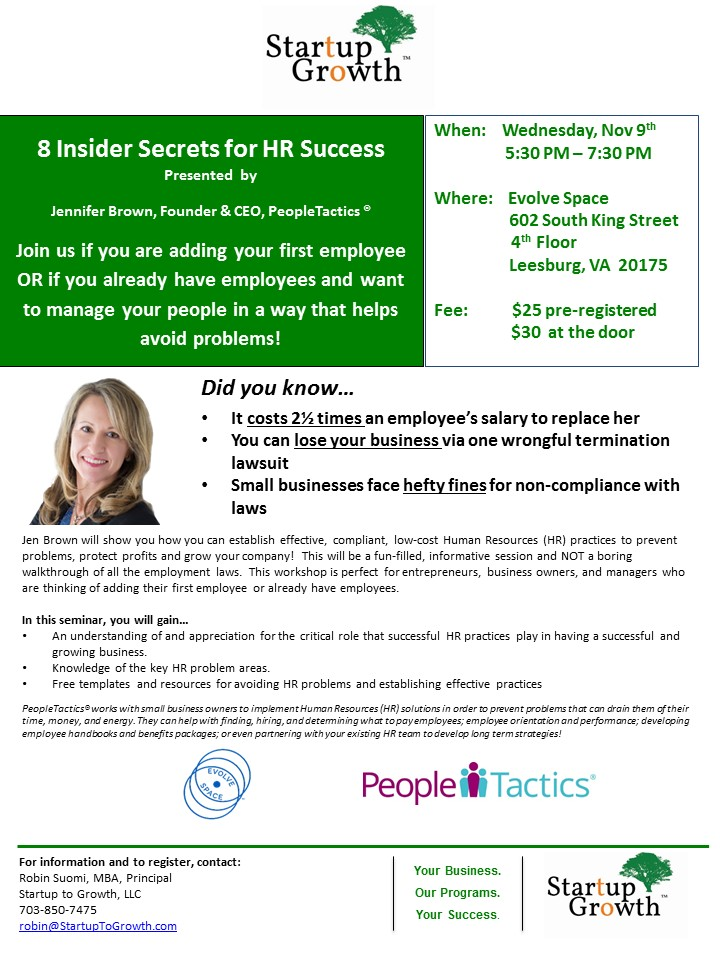 Small Business HR Success