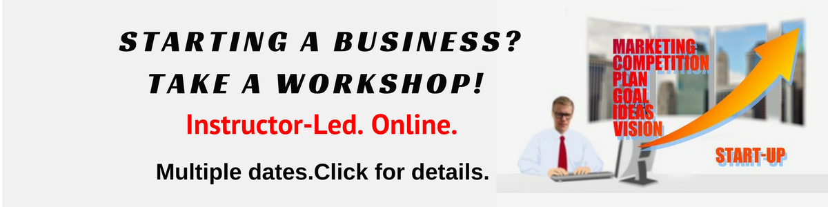 How to Start a Business Online Workshops