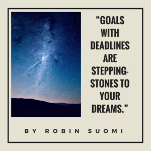 Goals Dreams Steppingstones