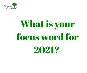 Focus Words for the New Year